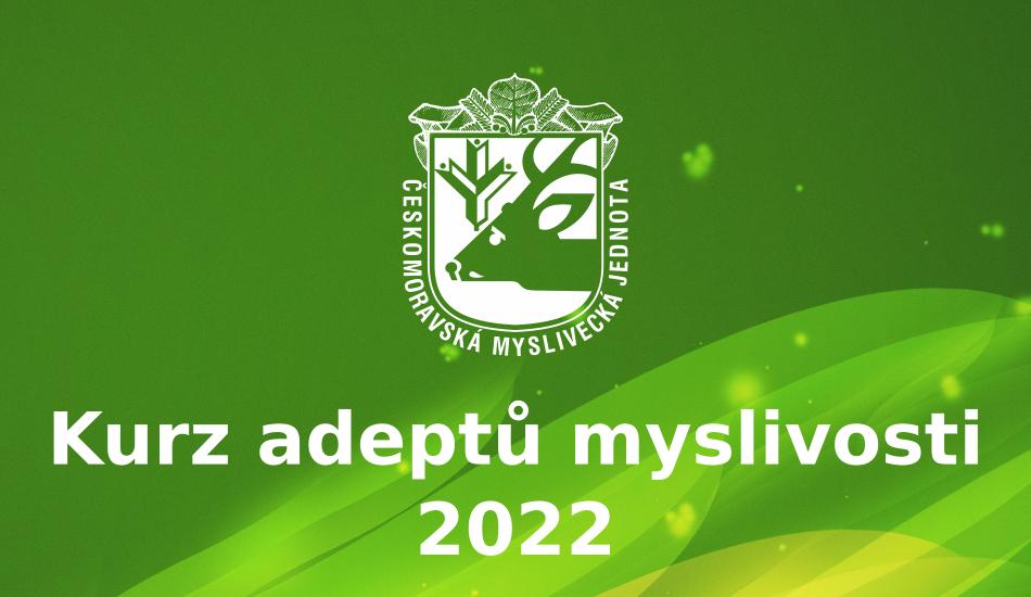 Kurz adeptů myslivosti 2022